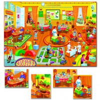 Игра Рассказы по картинкам. В детском саду С-952