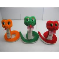 Змея 15см 141-399 3цв
