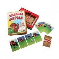 Игра Забавная ферма,обучающая, тактическая, семейная ИНК-6305
