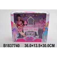 Кукла 5808-44А с аксес. в кор.