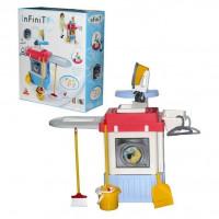 Игровой набор Стиральная машина с акс.  Infinity premium №1 звук  в кор. 42330 П-Е /1/