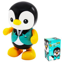 Игрушка на бат. 17178 Пингвиненок в кор.
