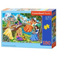 Пазл 180 Принцессы в саду В1-018383 Castor Land