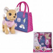 Chi-Chi love Собачка Чихуахуа Городская мода,с сумочкой и стикерами 20см 5893244