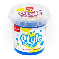 Лизун STYLE SLIME классический Лазурный с ароматом тутти-фрутти 150мл. Сл-004 LORI