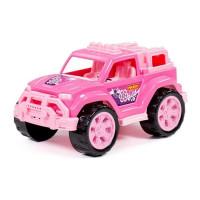 """Автомобиль """"Легионер"""" розовый в сетке 87584 П-Е /16/"""