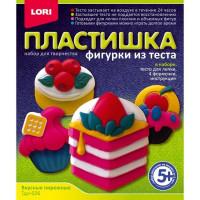 Набор ДТ Фигурки из теста Вкусные пирожные Тдл-026 Lori