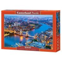 Пазл 1000 Вечерний Лондон С-104291 Castor Land