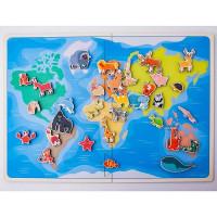 Дер. Карта травоядные животные 30206
