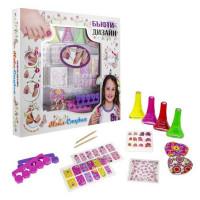 Набор Нэйл-Студия для дизайна ногтей с лаками для ногтей 117, 133, 119, 022 5,5 мл Т16789 LUCKY