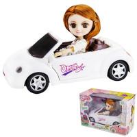 Кукла 58031 Катенька в машине в кор.