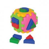 Логич.игрушка Куб умный малыш Логика №1 Т2452 /интелком/