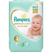 Подгузники PAMPERS Premium Care Midi 6-10 кг.