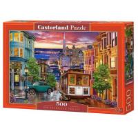 Пазл 500 Трамвай в Сан-Франциско В-53391 Castor Land