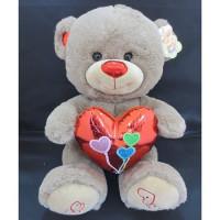 Медведь 31 см 141-639O с сердцем