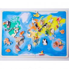Дер. Карта птицы 30207