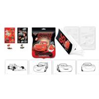 Подароч. набор Раскрась шпиона Disney Тачки с мел фольга 1820501