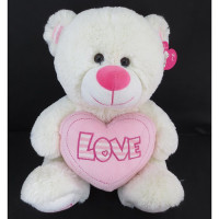 Медведь 30см 141-865O с сердцем