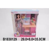 Кукла 200-51JX Ванная комната с аксесс. в кор.