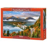 Пазл 500 Восход над озером, Германия В-53353 Castor Land