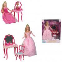 Штеффи Кукла принцесса со столиком 5733197