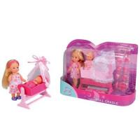 ЕВИ Кукла+пупс в коляске 5736242