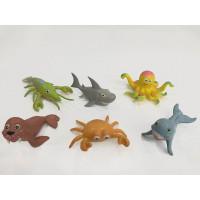 Набор животных 270606 Мульт. морские обитатели, в пак.