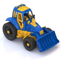 Трактор с грейдером 398 Норд /18/