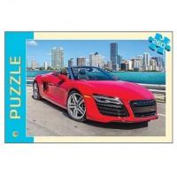 Пазл 260 Красный автомобиль П260-0562