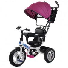 Велосипед 3-х PILOT PTA1V фиолетовый надув. колеса 12/10