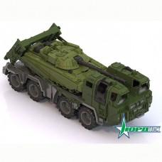 Автомобиль Военный тягач Щит с танком 258 Норд /4/