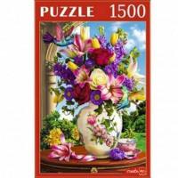 Пазл 1500 Цветы и колибри Ф1500-0643