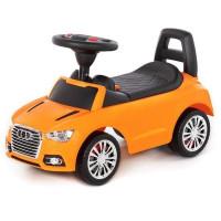 Каталка-автомобиль SuperCar №2 со звуковым сигналом оранжевая 84569 П-Е /1/