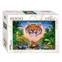 Пазл 6000 Величественный тигр 85501