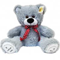 Медведь Захар 50 см серый МЗР-50ср