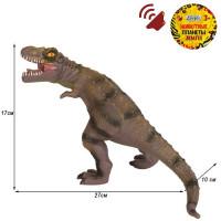 Игрушка на бат. Динозавр Звук – рёв животного, эластичная поверхность JB0208306