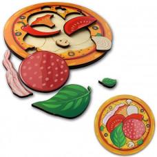 Дер. Рамка-вкладыш Пицца 101106