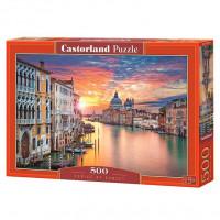 Пазл 500 Венеция на закате В-52479 Castor Land