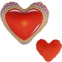 Подушка сердце антистресс 30 см 4126-1/КР-2/30