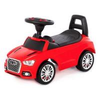 Каталка-автомобиль SuperCar №2 со звуковым сигналом красная 84545 П-Е /1/