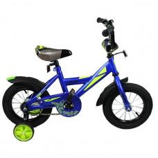 """Велосипед 2-х 12"""" Black Aqua 1202 синий DD-1202B"""