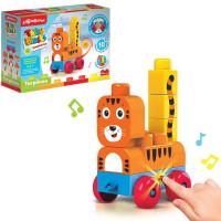 Игрушка музыкальная Тигренок Talky Blocks кнопочка 4630027291714