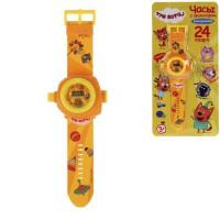 Игрушка на бат. Часы Три Кота с проекцией 1266129-RB19
