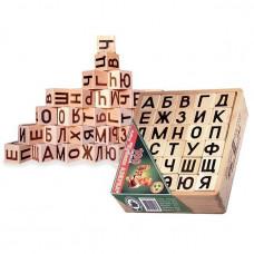Дер. Кубики 30шт Азбука А2301