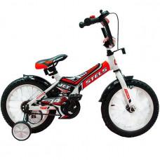 "Велосипед 2-х 14"" Jet белый/красный Z010 /STELS/"