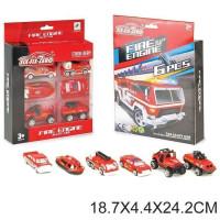 Набор машин 660-А128 Пожарный в кор.