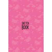 Скетчбук А5 463-0-079-15481-4 Единороги розовый