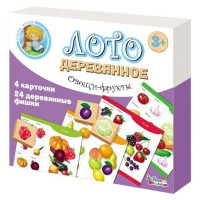 Лото Овощи и фрукты дер. 01996