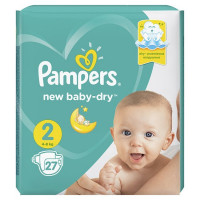 Подгузники PAMPERS New Baby-Dry Mini 4-8 кг