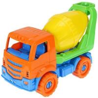 Автомобиль Илья Бетоновоз Оранжевый 22 см И-2638